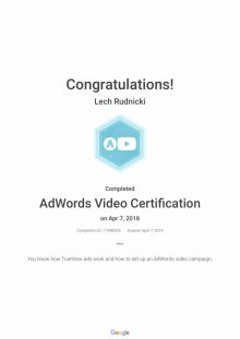 AdWords_Video_Certification